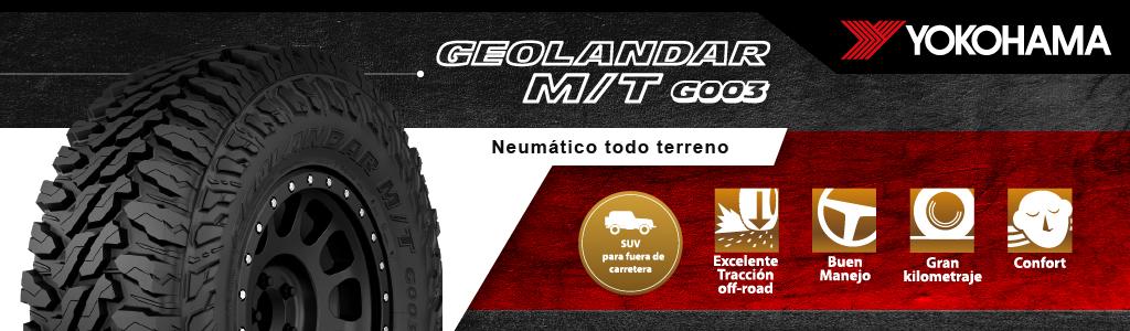 yokohama geolandar MT G003