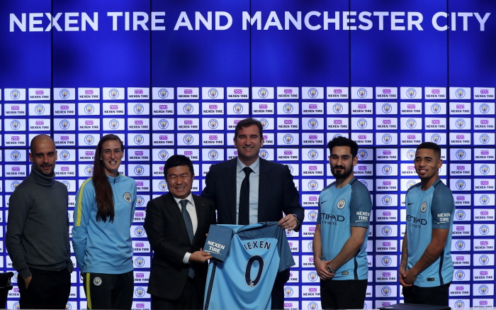 Manchester city Nexen Tire